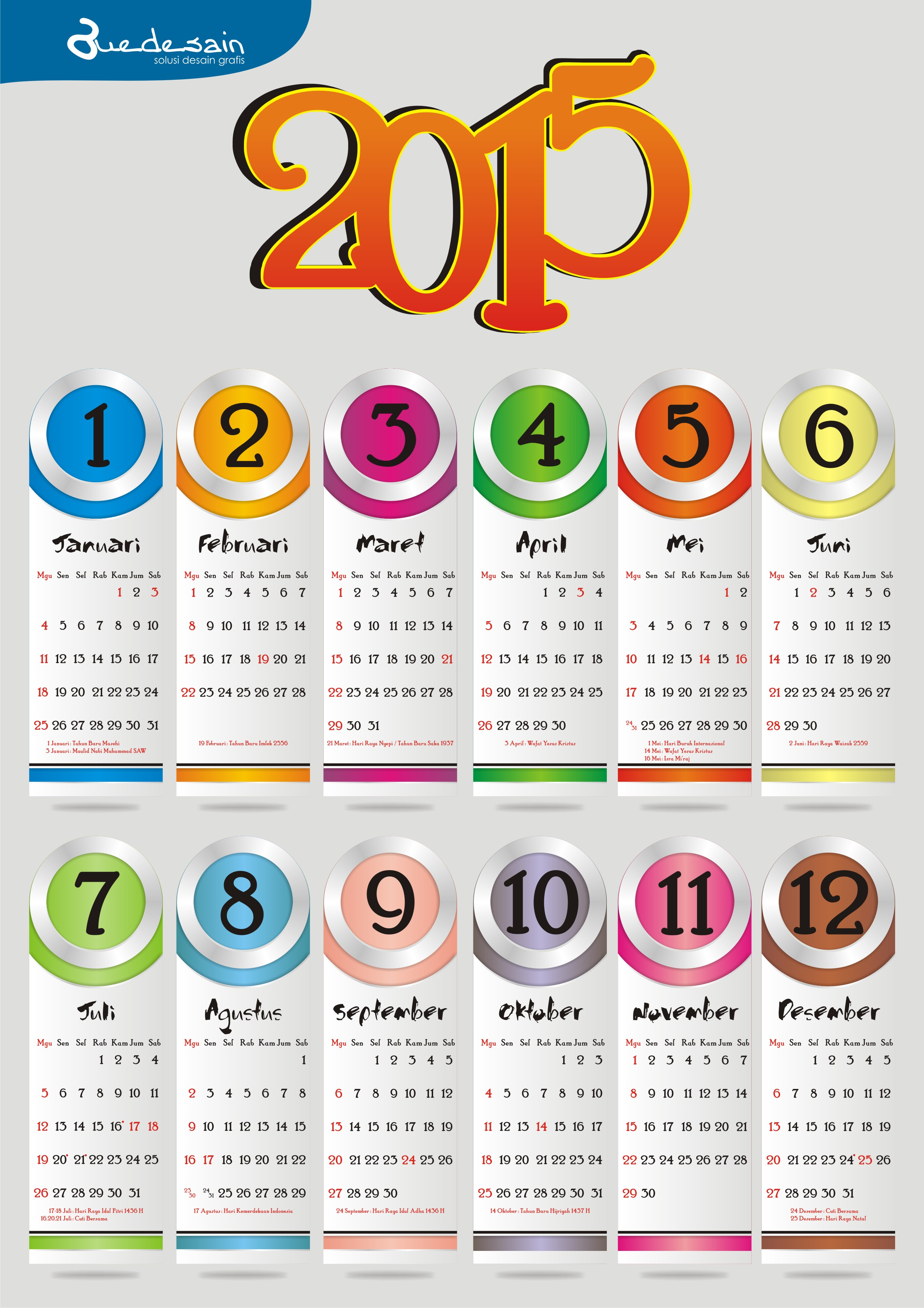 kalender 2015 cdr new calendar template site. Black Bedroom Furniture Sets. Home Design Ideas