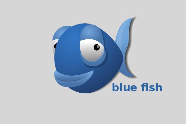 bluefish-wall
