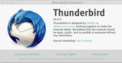 thunderbird-version