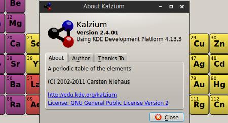 about-kalzium