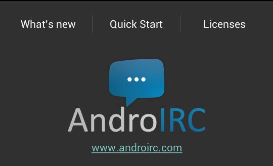 Chatting Irc dengan Apps Andorid Irc – WebWahyu