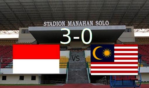 Malaysia kalah telak, skor Indonesia 3-0 Malaysia
